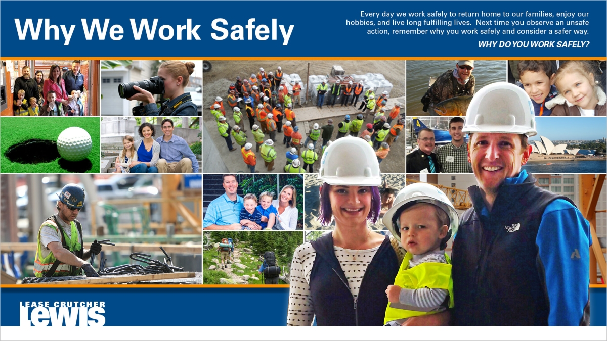 Why We Work Safely – Final Collage – Bill Michie